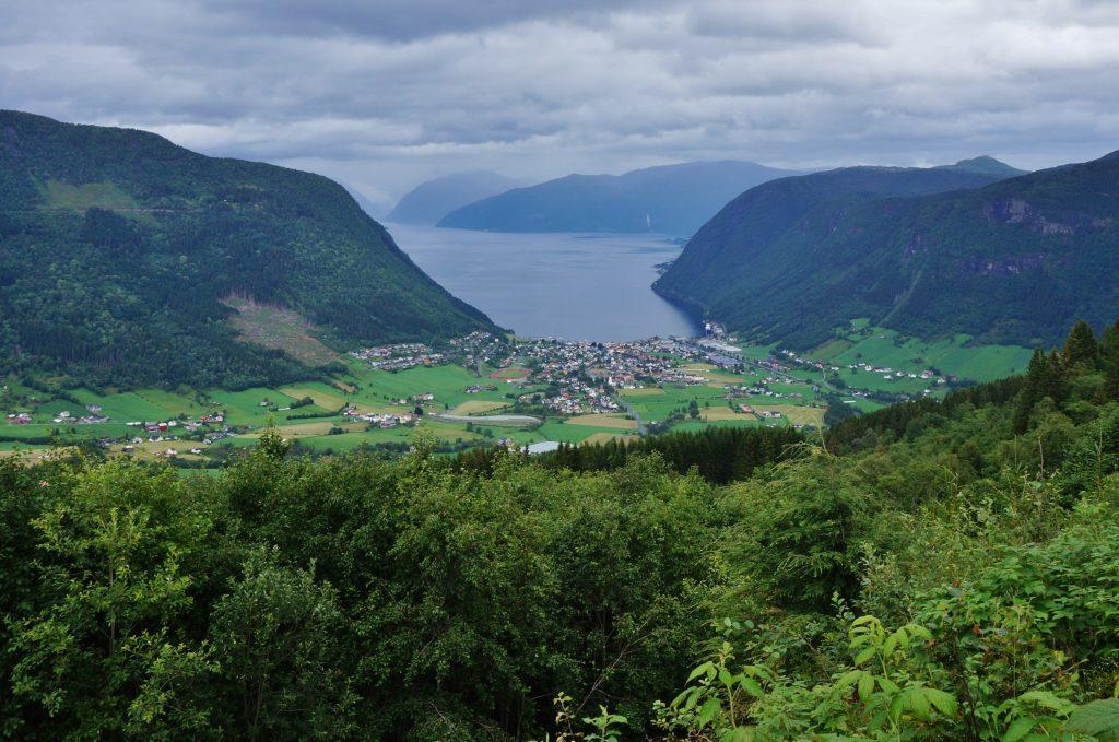 norvege fjord paysage Geirangerfjord
