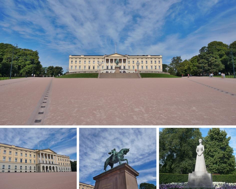 palais royal oslo norvège