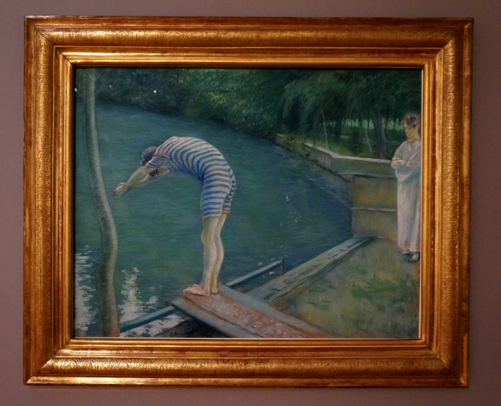caillebotte baigneurs Yerres