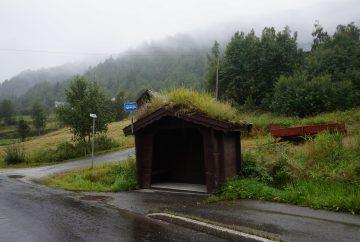 arret de bus norvege