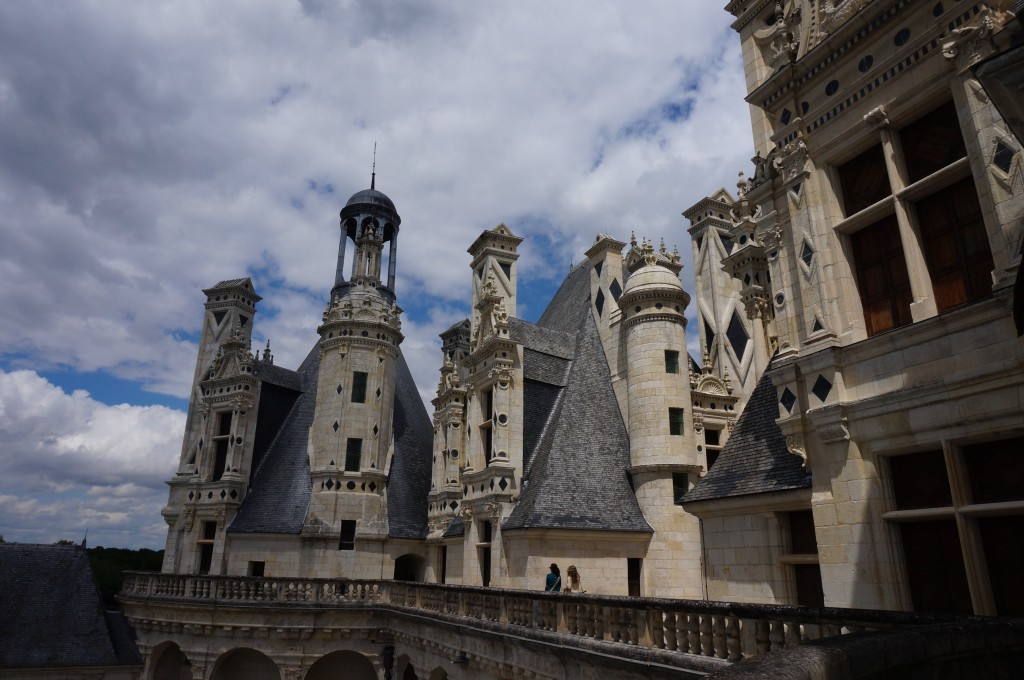 chateau de chambord terrasse