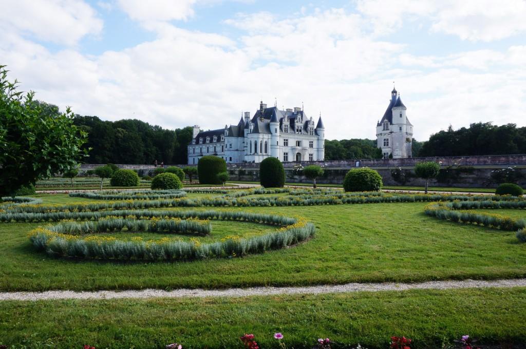 jardins chenonceau