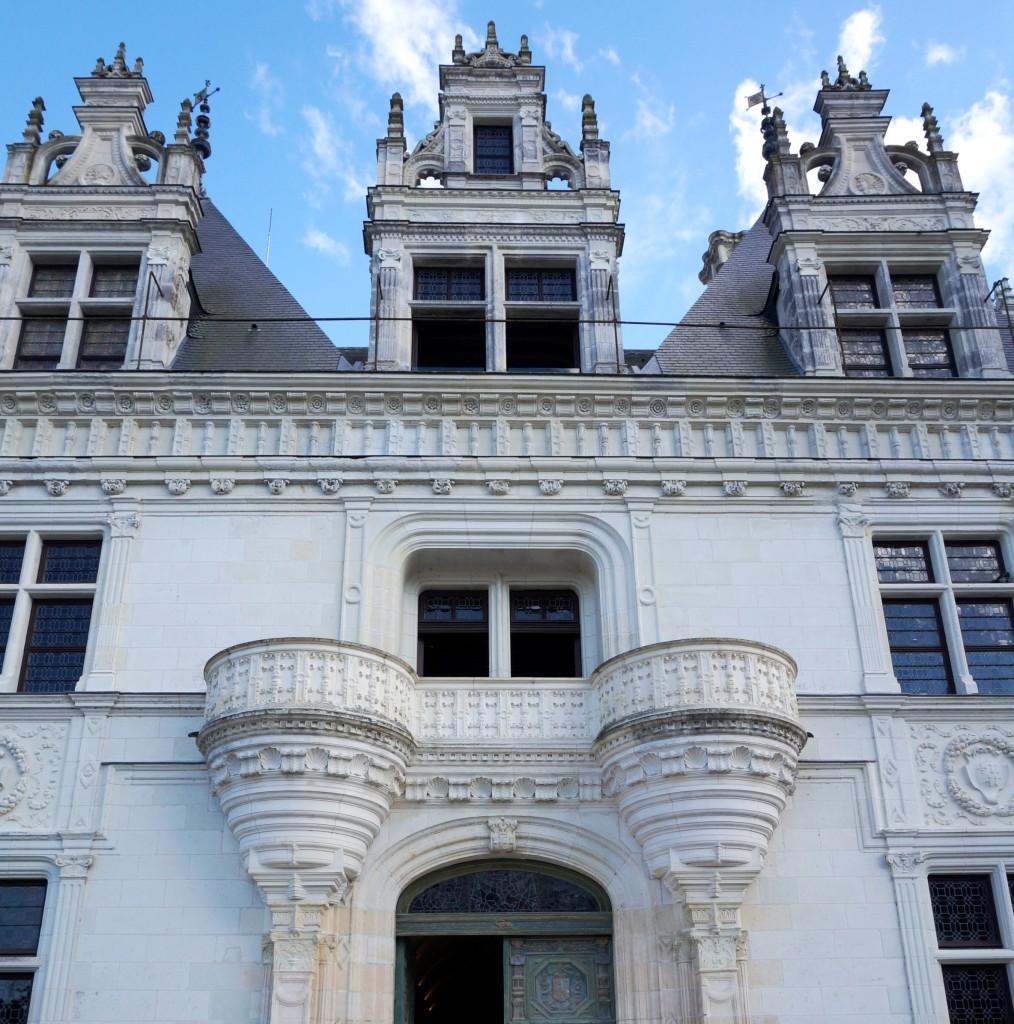 entrée du chateau de chenonceau