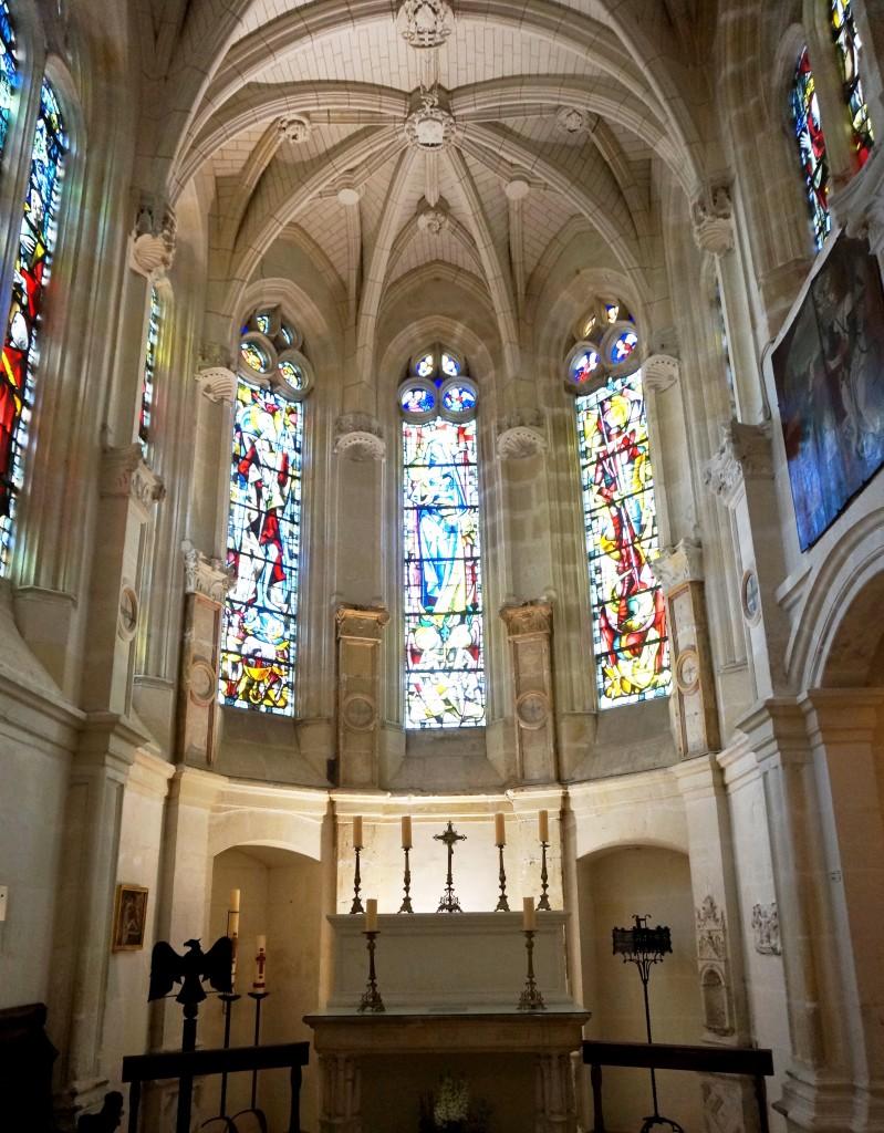 chapelle chateau de chenonceau