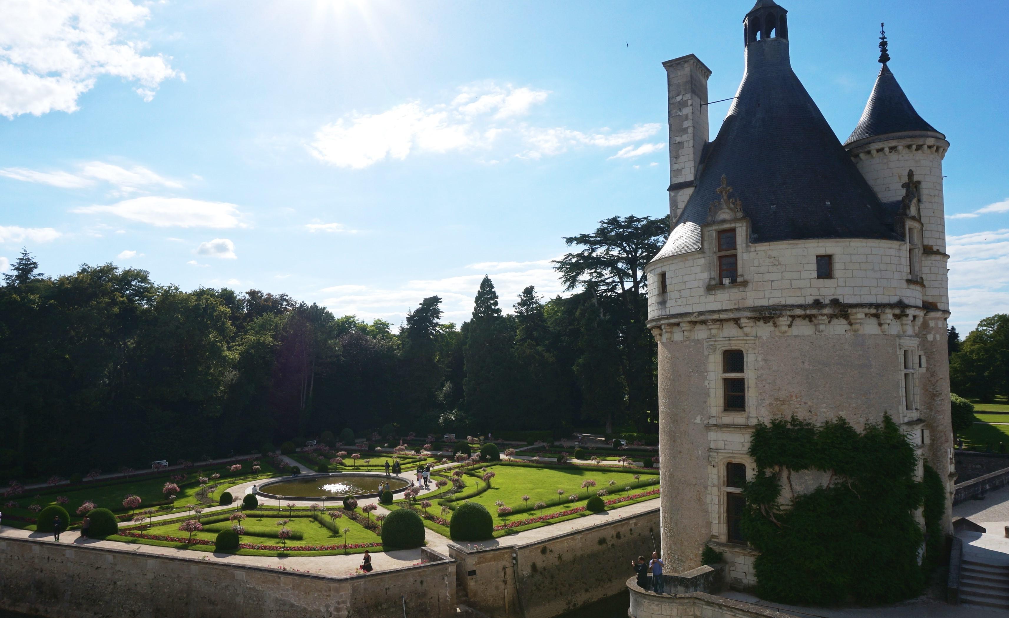 Ch teau de chenonceau jolis circuits for Le jardin de catherien