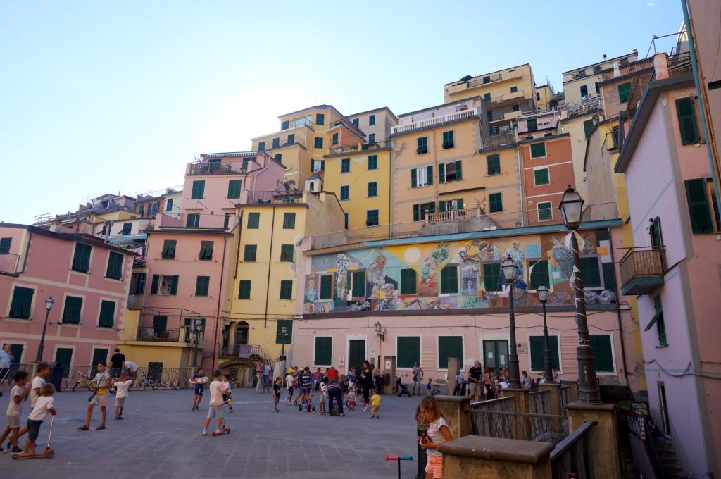 riomaggiore 5 terre italie