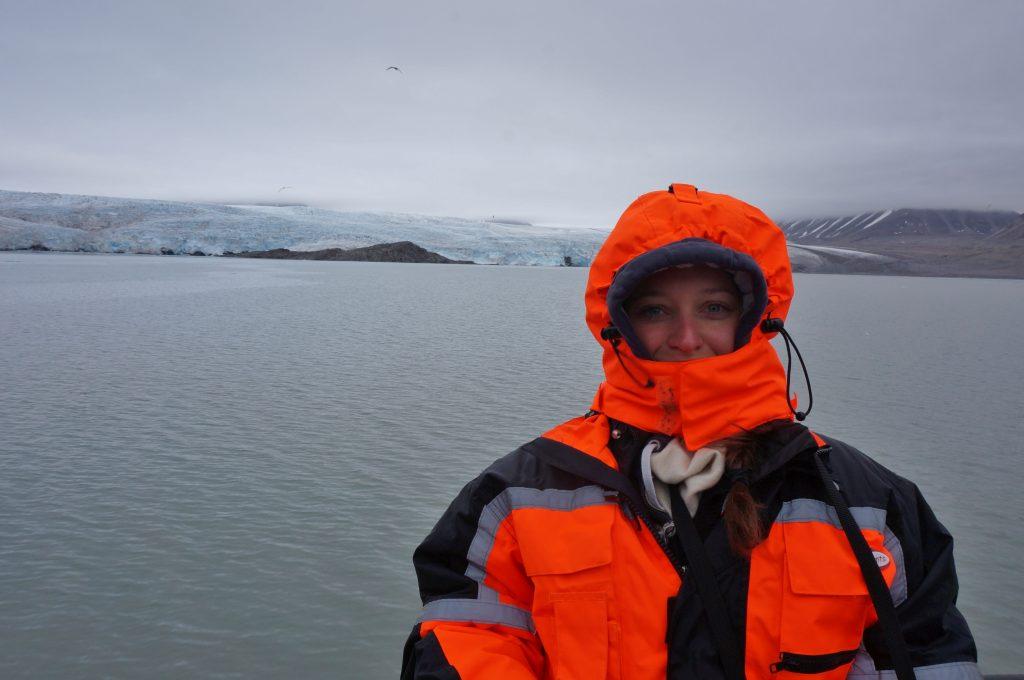 glacier svalbard norvege