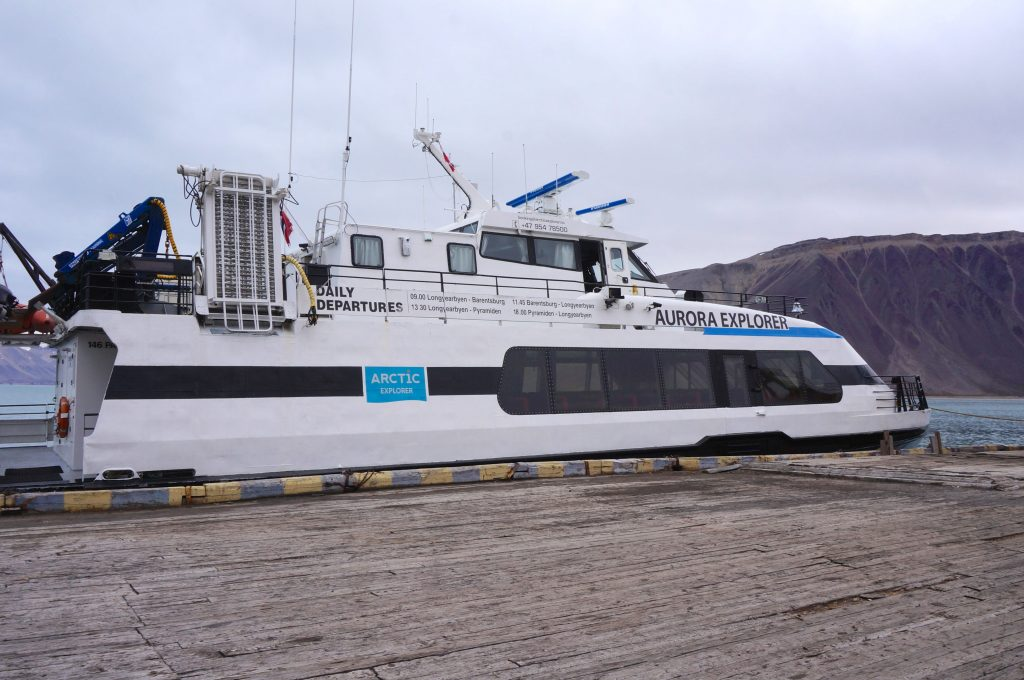 excursion svalbard norvège glacier