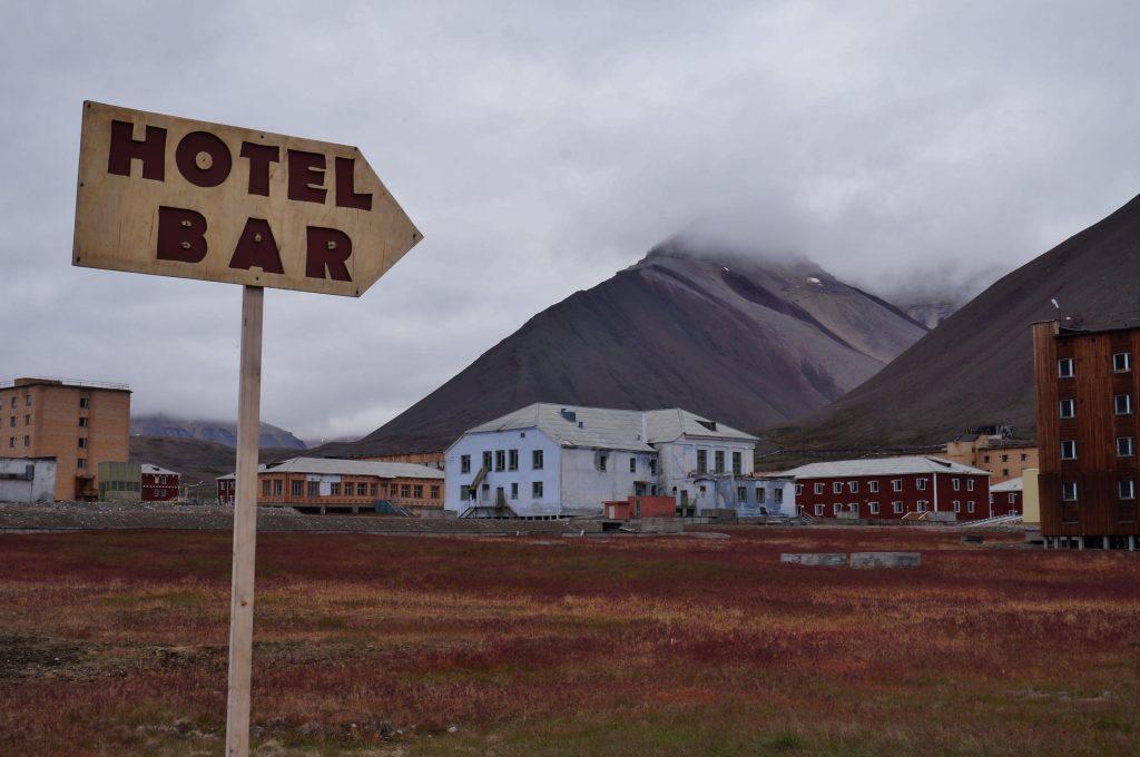 Svalbard pyramiden norvege