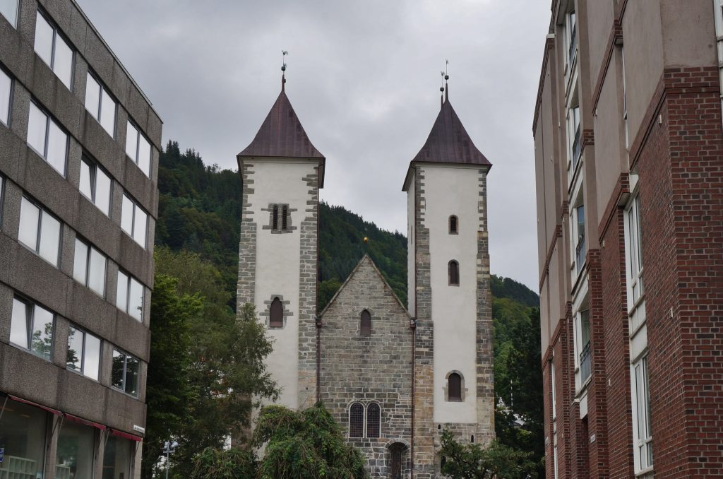 norvege bergen église Mariakirken