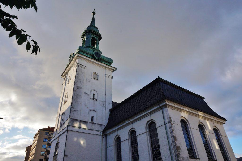 bergen norvege église nykjken