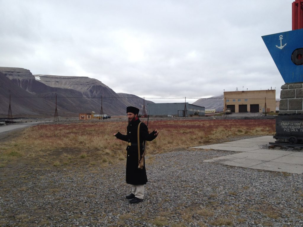 guide Svalbard pyramiden norvege