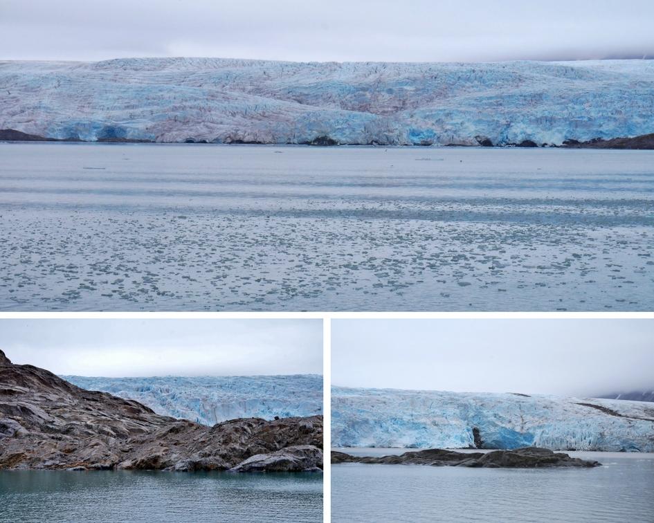 glacier norvège svalbard