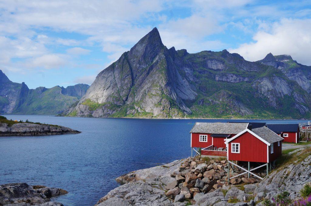 Lofoten norvege hamnoy