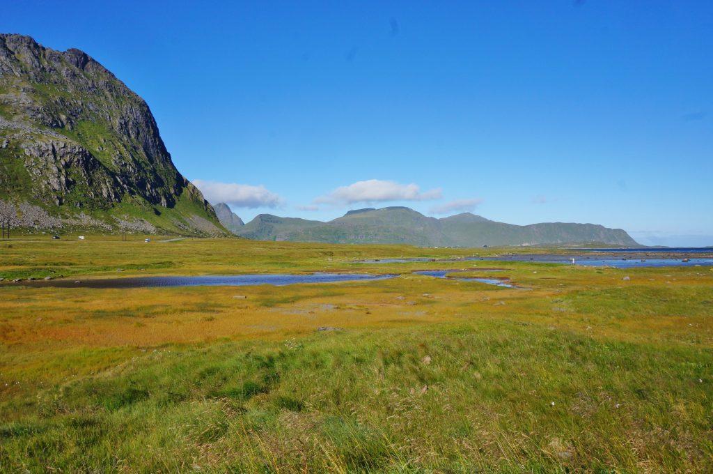 Lofoten norvege Kvalvika