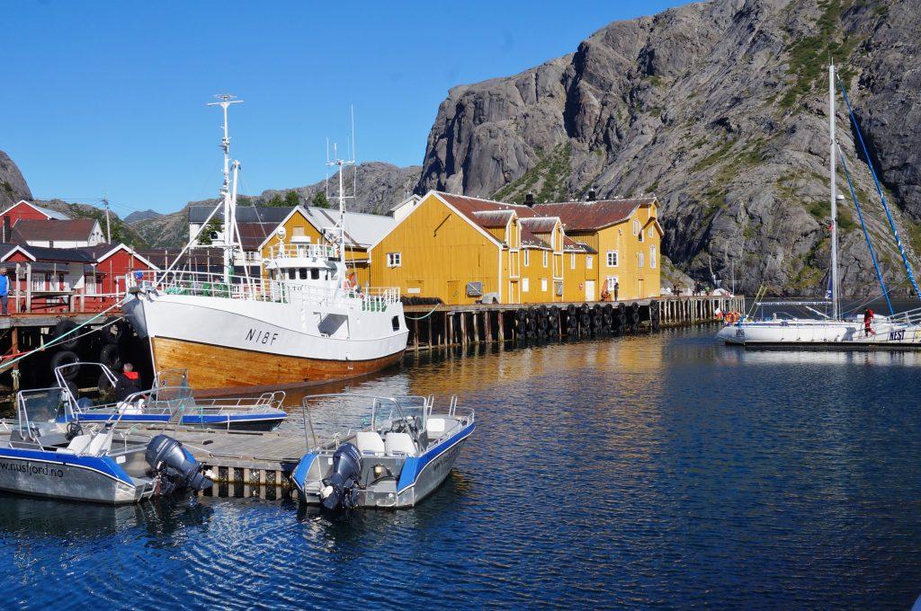 Lofoten norvege Nusfjord