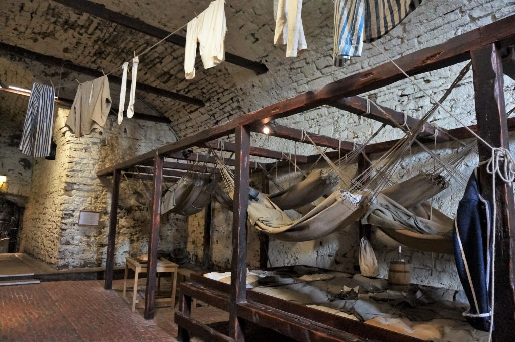 prison château d'edimbourg ecosse