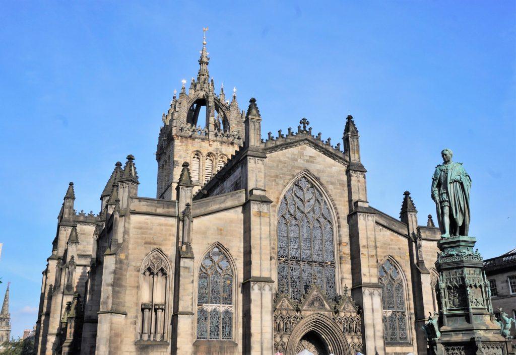 ecosse edimbourg cathédrale Saint Giles