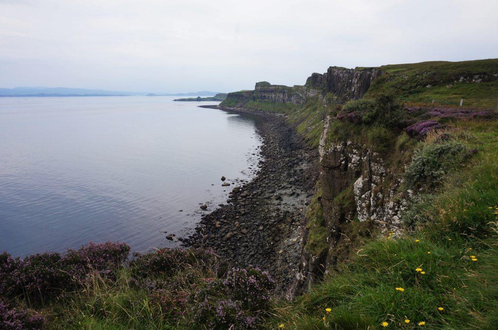 Kilt Rock île de skye ecosse