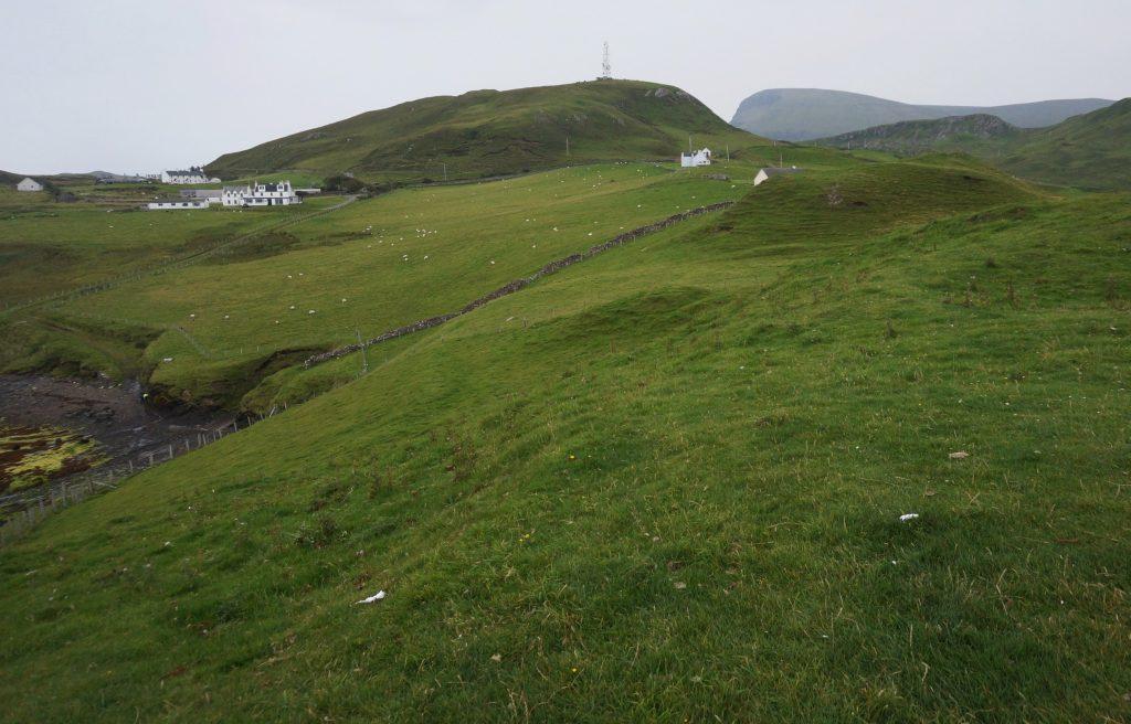 Duntulm castle ecosse île de skye