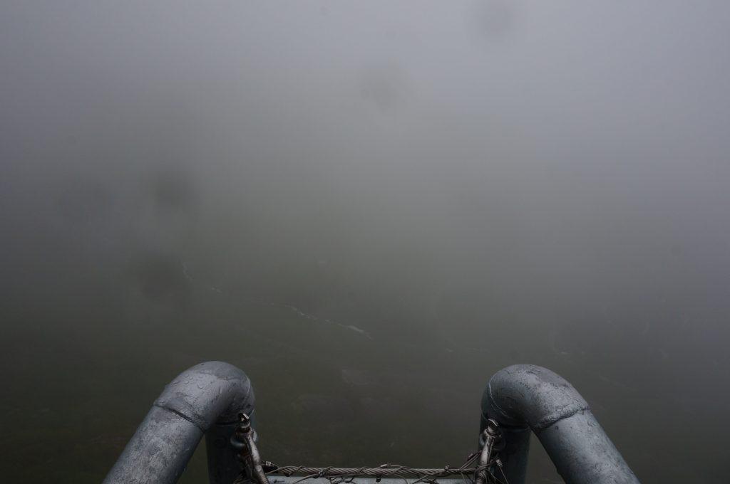 brouillard en norvege