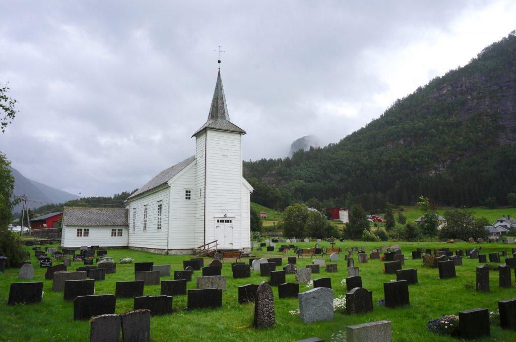 église en bois norvège