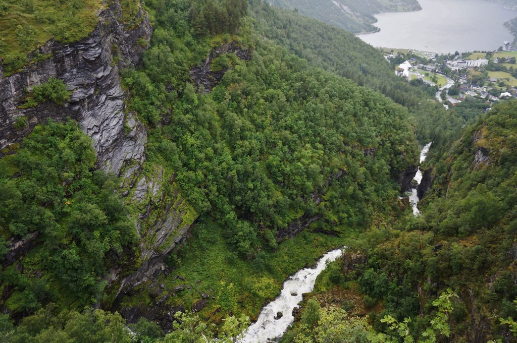 norvege fjord du geiranger