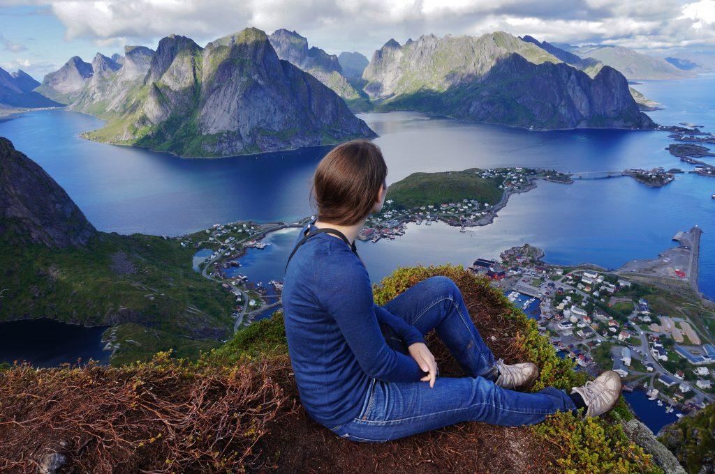 Norvege lofoten reine