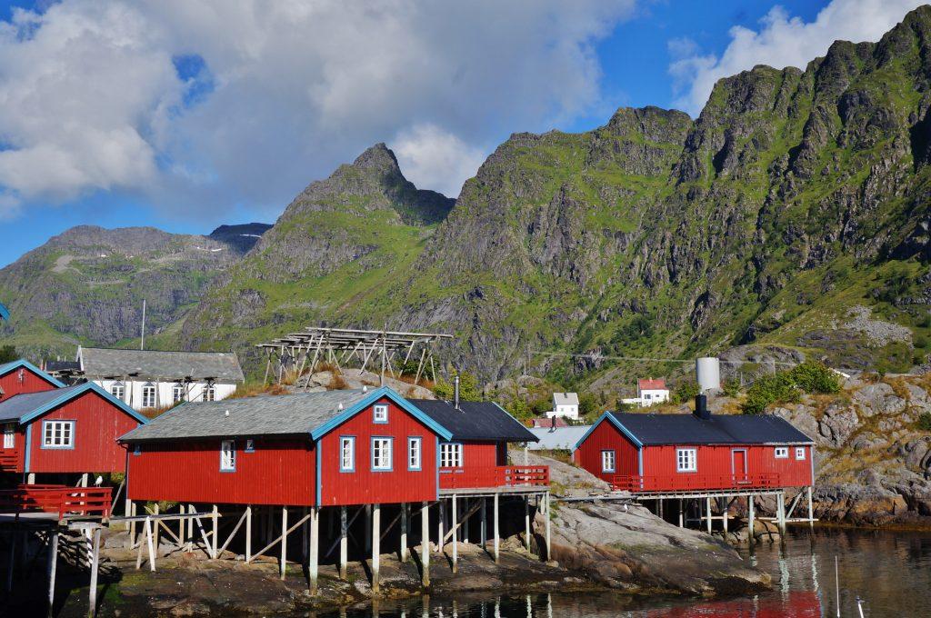 rorbuer norvege lofoten