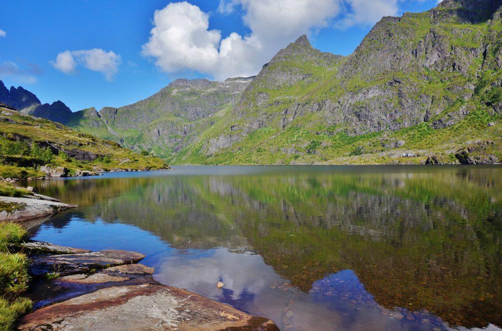 camping sauvage lofoten norvege