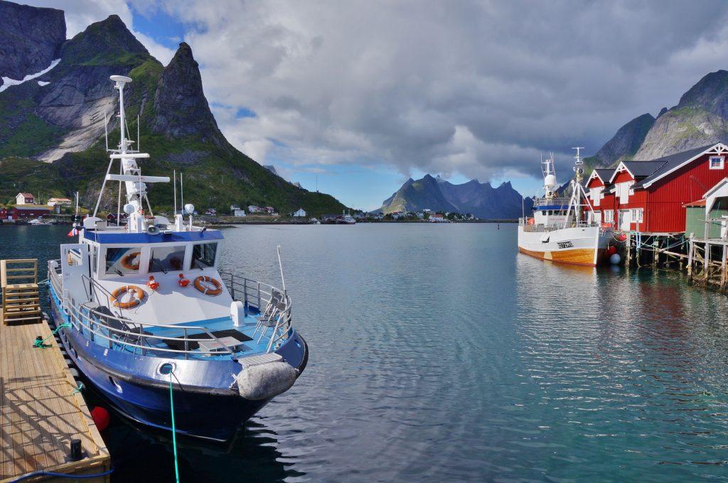 excursion bateau reine norvege lofoten