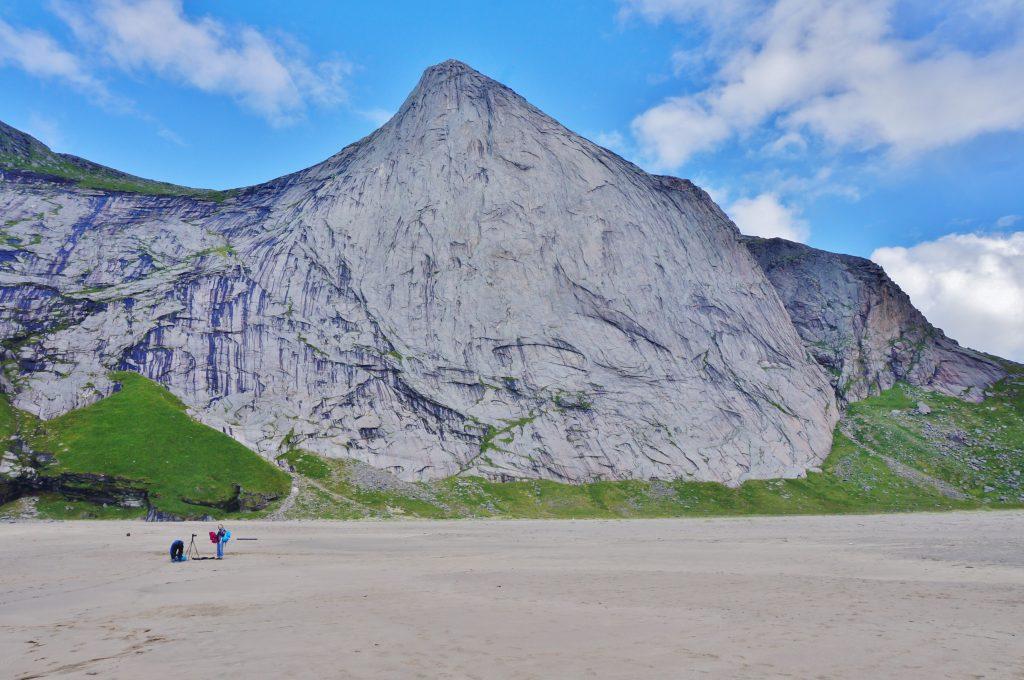 plage de Buneset Vindstad norvege lofoten