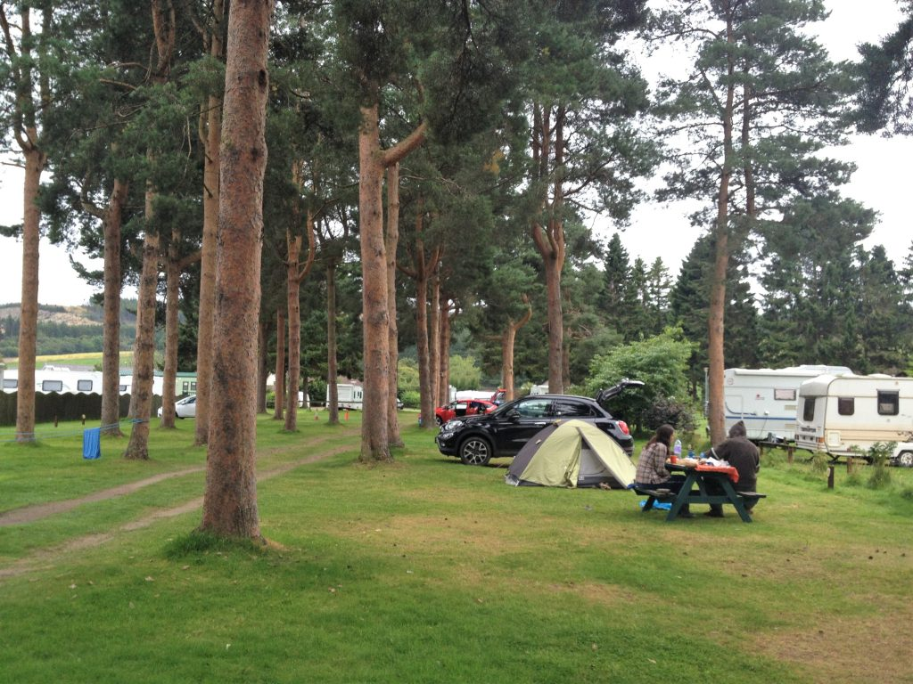 camping Dufftown ecosse