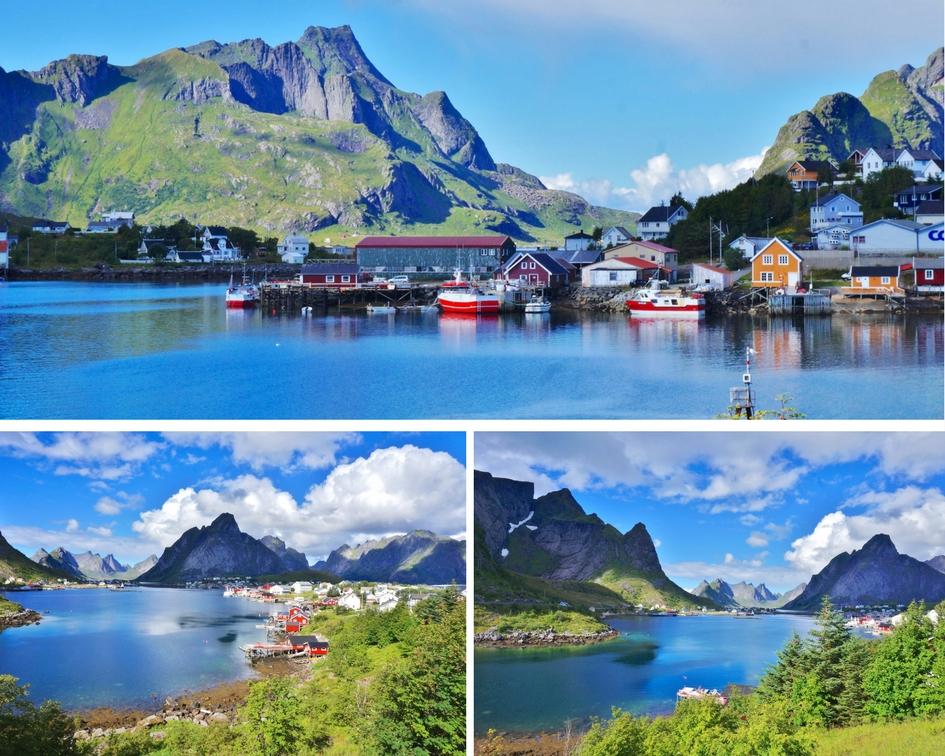 îles lofoten norvège reine