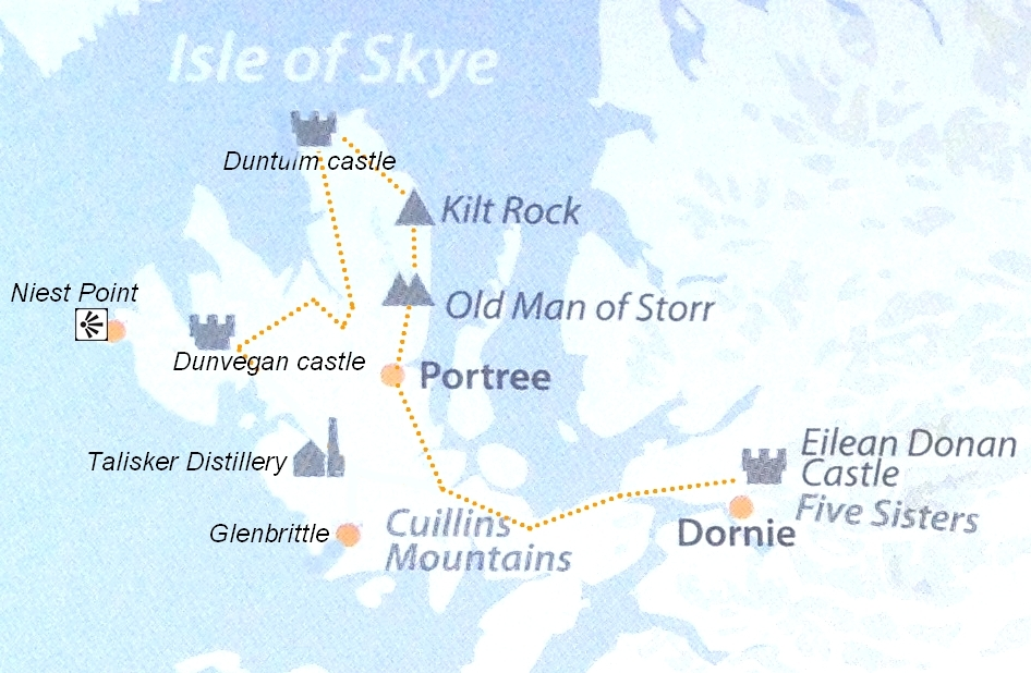 itineraire ecosse île de skye
