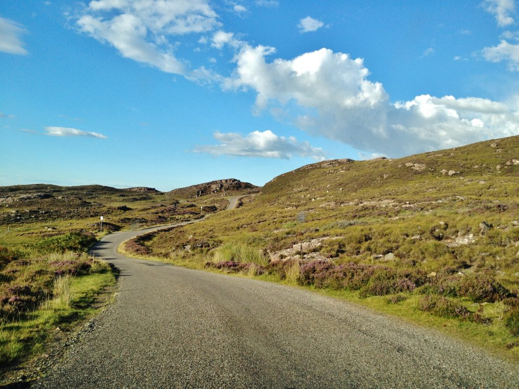 on the road applecross ecosse wester ross