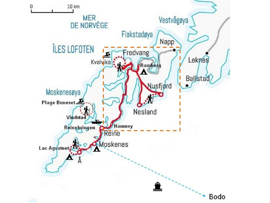 plan lofoten excursions norvege