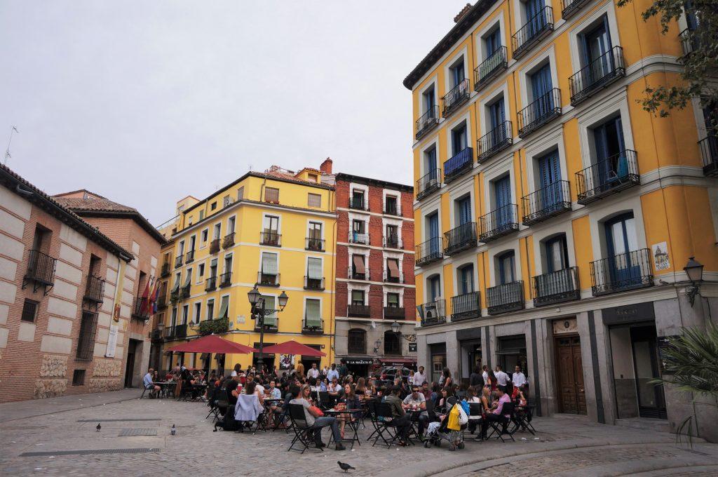 madrid espagne Plaza de los Carros