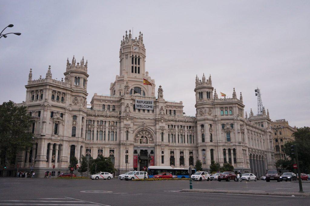 madrid espagne centrocentro palacio de cibeles