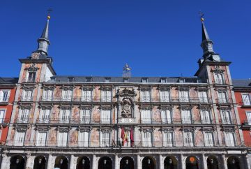 madrid espagne plaza mayor