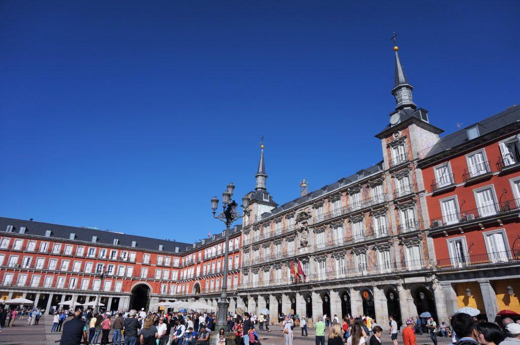 madrid espagne plaza mayor
