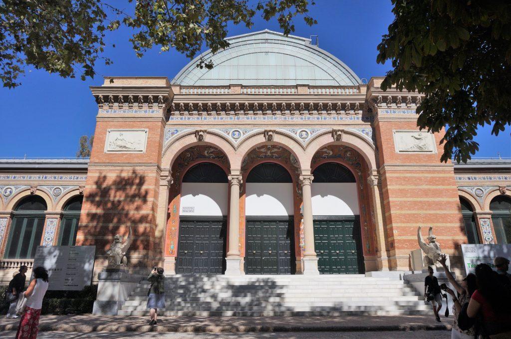 madrid espagne parque del retiro palacio de velazquez