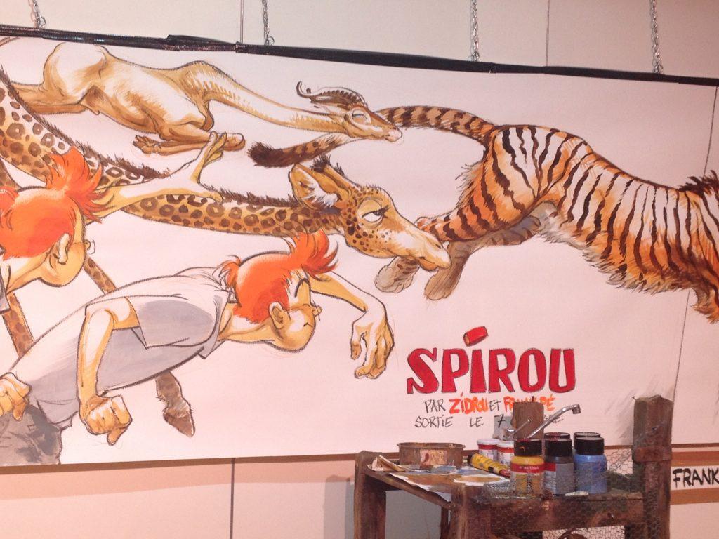festival de la bd bruxelles Spirou