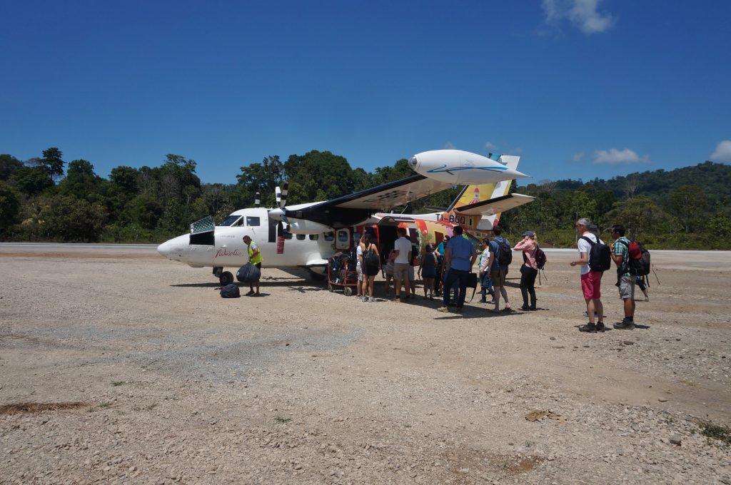 aeroport bahia drake corcovado costa rica