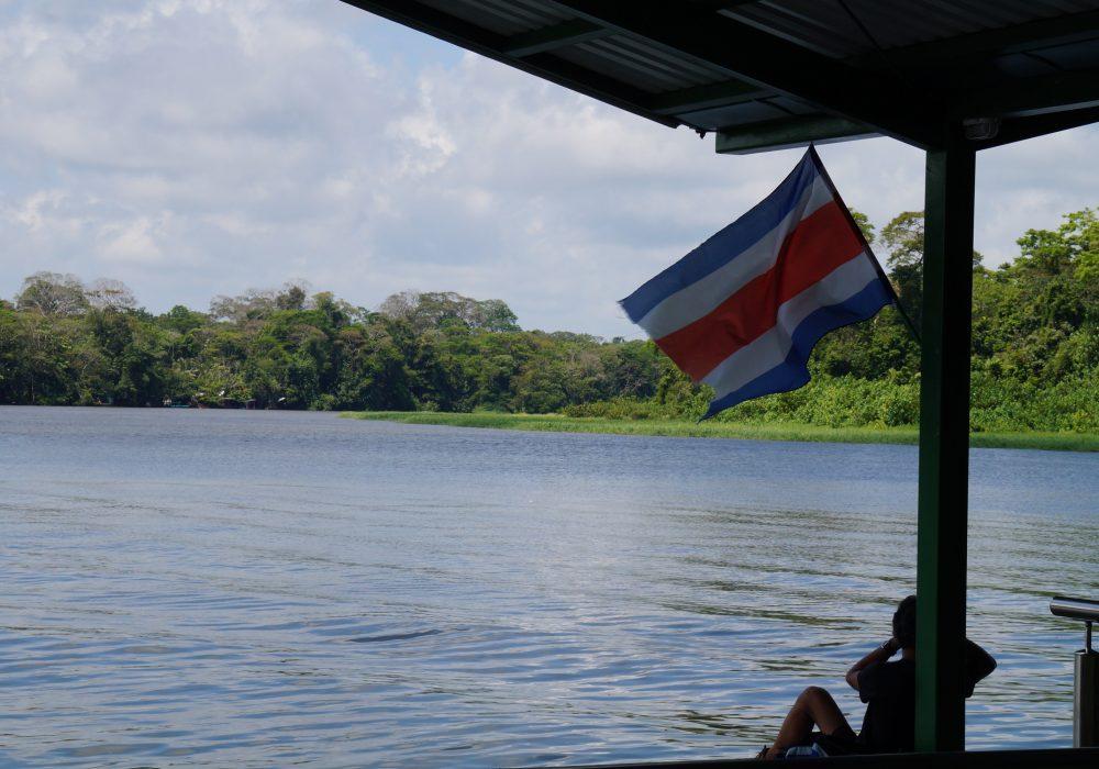 Entrée du parc national de Tortuguero - costa rica