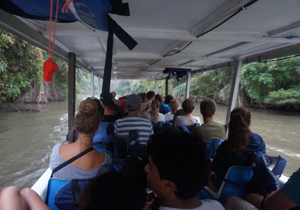 Bateau pour Tortuguero - costa rica