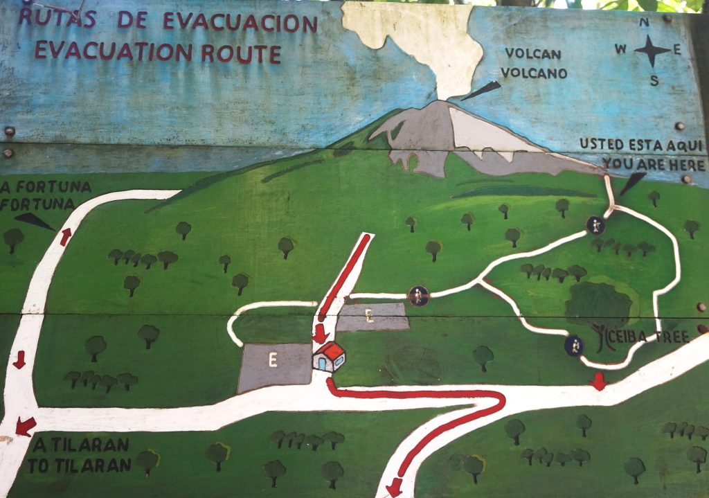 Plan parc naturel volcan arenal costa rica