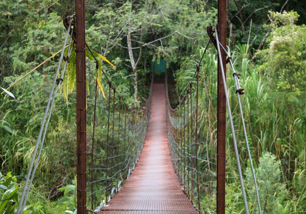 Arenal Observatory lodge - pont suspendu- costa rica