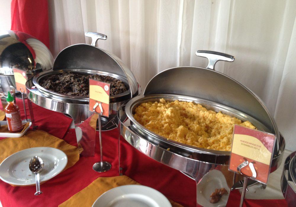 Petit-déjeuner - Hôtel Volcano Lodge and Springs - Arenal - Costa rica