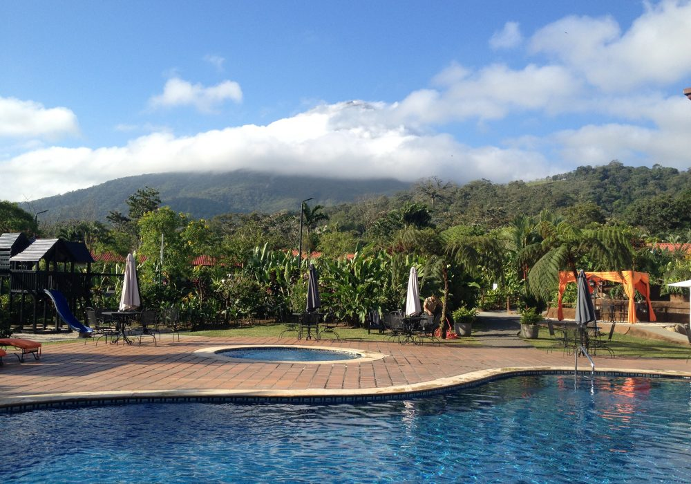 Piscine - Hôtel Volcano Lodge and Springs - Arenal - Costa rica
